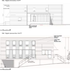 Plan de facade